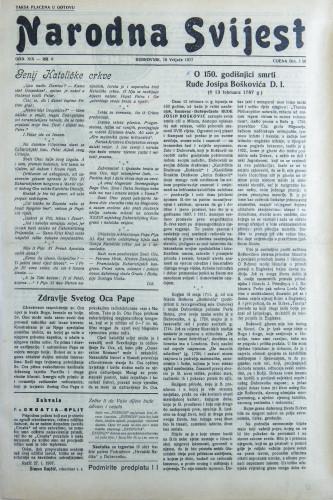 Narodna svijest, 1937/6
