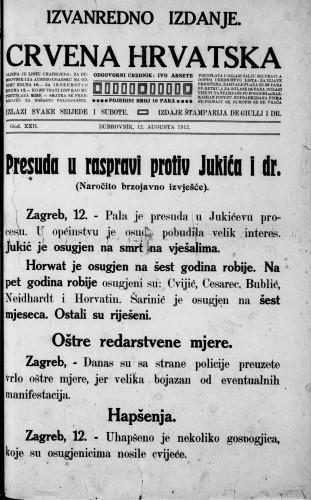 Crvena Hrvatska/izvanredno izdanje
