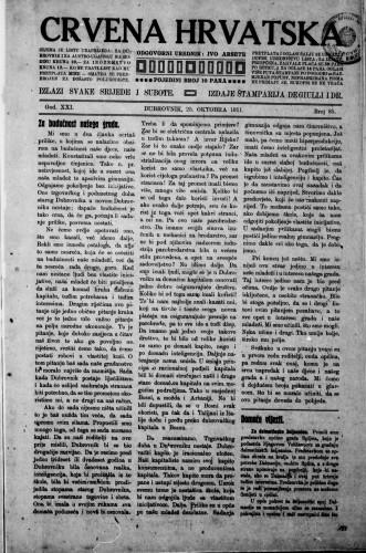 Crvena Hrvatska/85