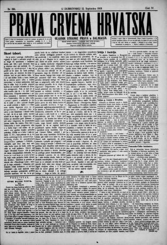 Prava Crvena Hrvatska/186
