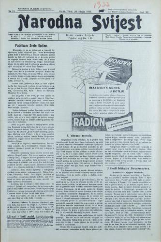 Narodna svijest, 1933/13