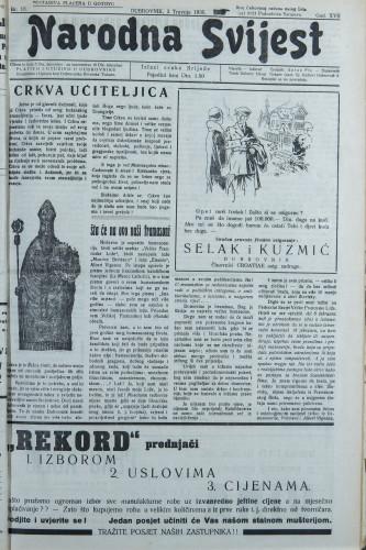 Narodna svijest, 1935/13