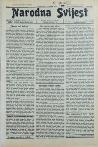 Narodna svijest, 1933/2