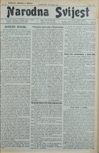 Narodna svijest, 1927/12