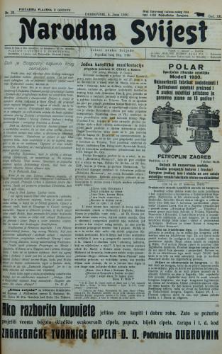 Narodna svijest, 1930/22