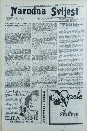 Narodna svijest, 1932/10