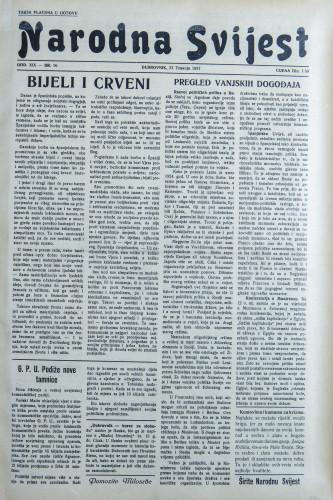 Narodna svijest, 1937/16