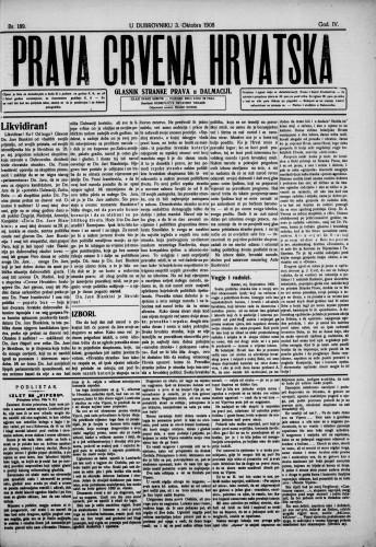 Prava Crvena Hrvatska/189