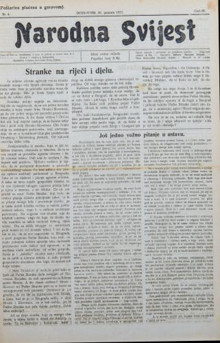 Narodna svijest, 1921/4
