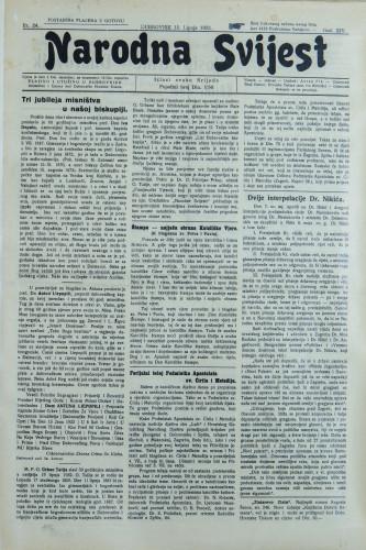 Narodna svijest, 1932/24