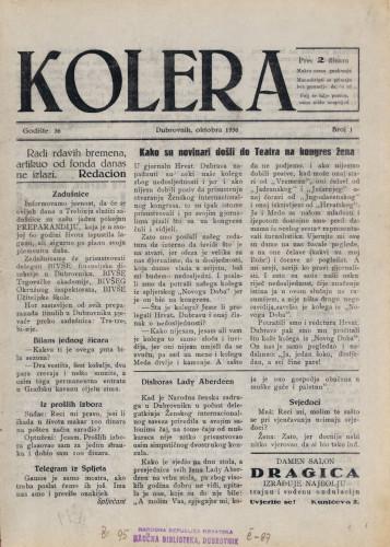 Kolera/1