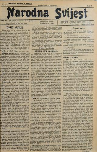 Narodna svijest, 1923/10