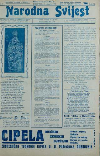 Narodna svijest, 1930/4