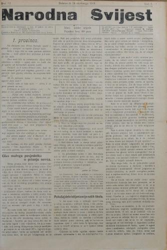 Narodna svijest, 1919/13