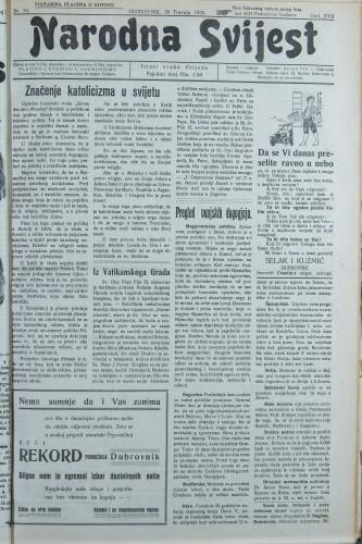 Narodna svijest, 1935/16