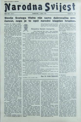 Narodna svijest, 1940/6
