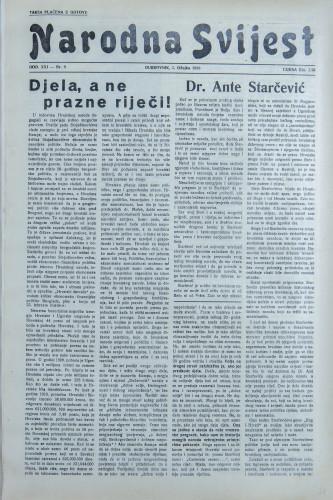 Narodna svijest, 1939/9