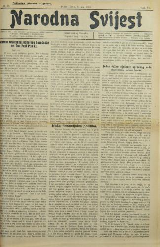 Narodna svijest, 1925/23