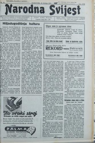 Narodna svijest, 1935/20