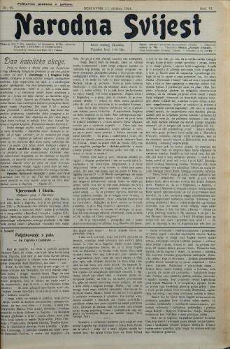 Narodna svijest, 1924/43