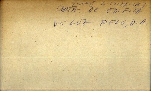 Carta de edifica - nast. sign.