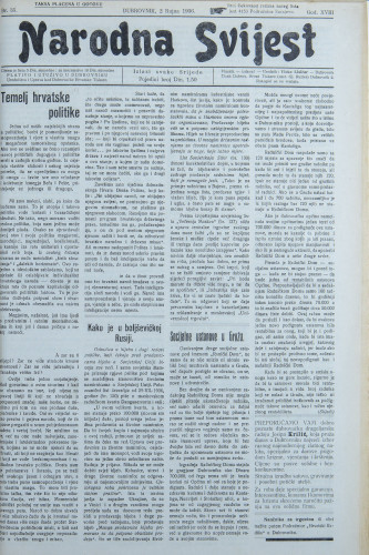 Narodna svijest, 1936/35