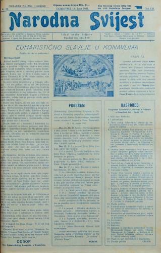 Narodna svijest, 1931/24