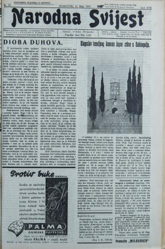Narodna svijest, 1935/19