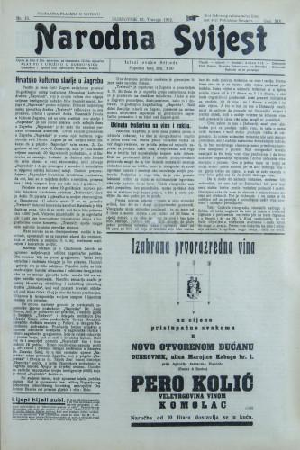 Narodna svijest, 1932/15