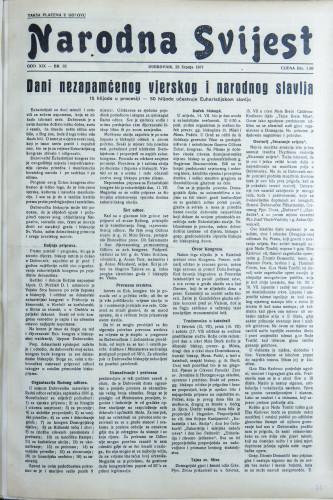 Narodna svijest, 1937/32