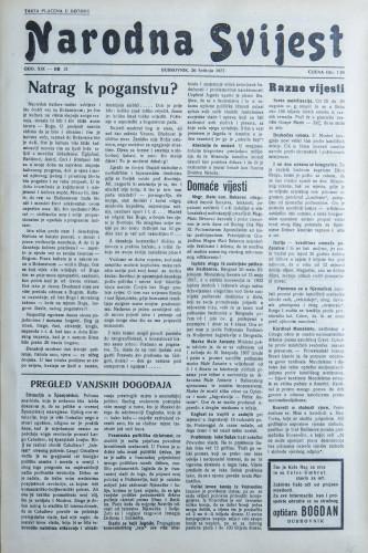 Narodna svijest, 1937/21