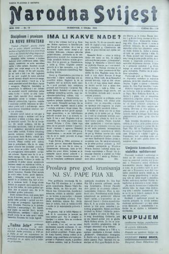 Narodna svijest, 1940/10