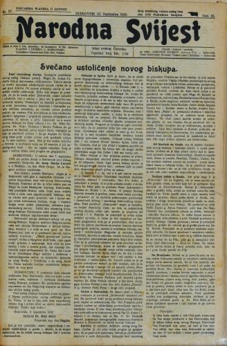 Narodna svijest/37