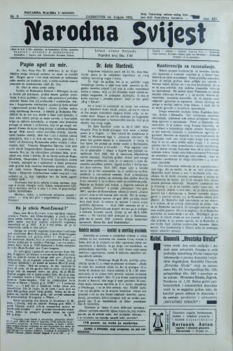 Narodna svijest, 1932/8