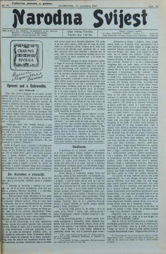 Narodna svijest, 1927/46