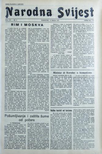 Narodna svijest, 1937/2