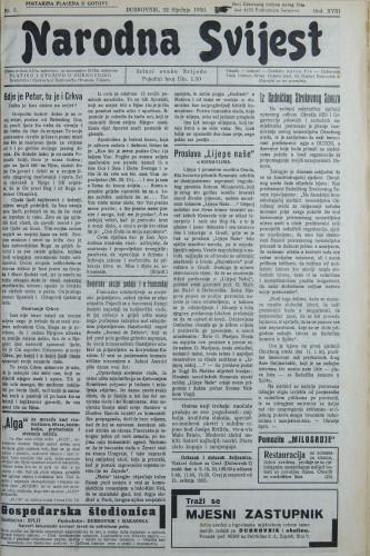 Narodna svijest, 1936/3