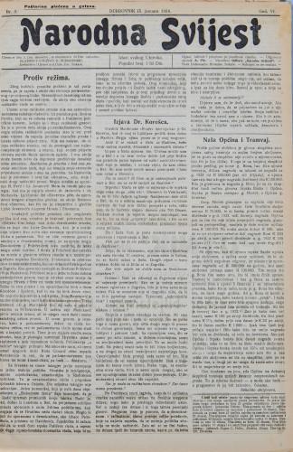 Narodna svijest, 1924/3