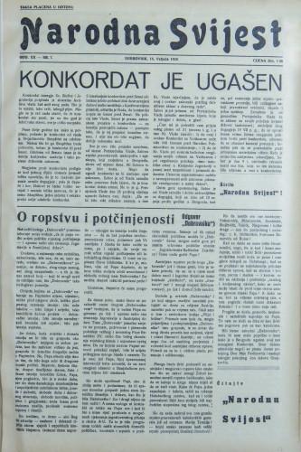 Narodna svijest, 1938/7