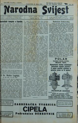 Narodna svijest, 1930/12