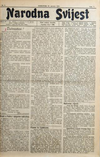 Narodna svijest, 1923/5