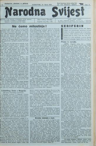 Narodna svijest, 1928/13