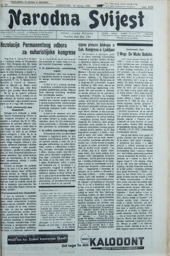 Narodna svijest, 1935/29