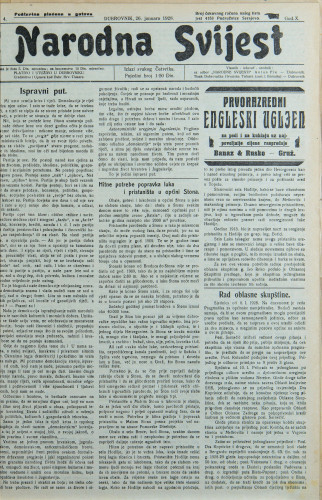 Narodna svijest, 1928/4