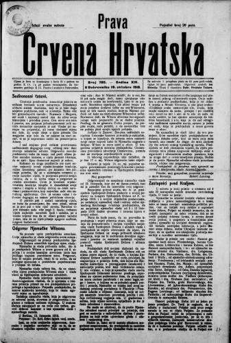 Prava Crvena Hrvatska/705