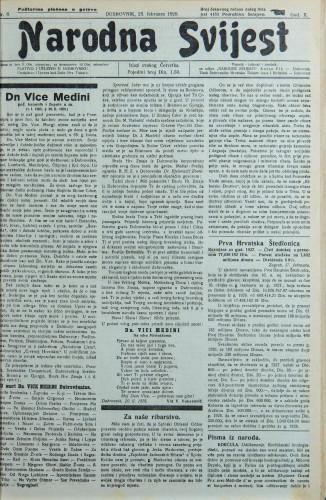 Narodna svijest, 1928/8