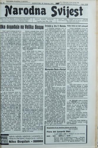 Narodna svijest, 1935/33