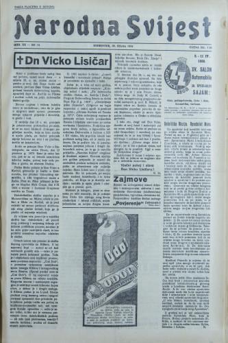 Narodna svijest, 1938/13