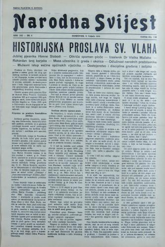 Narodna svijest, 1939/6