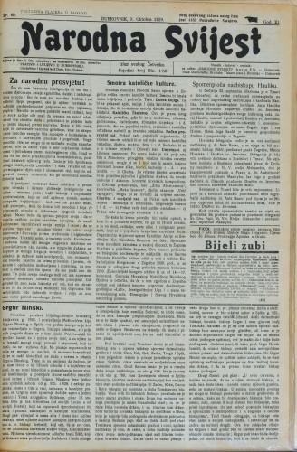 Narodna svijest/40